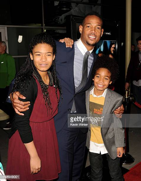 marlon wayans children stock photos and pictures getty