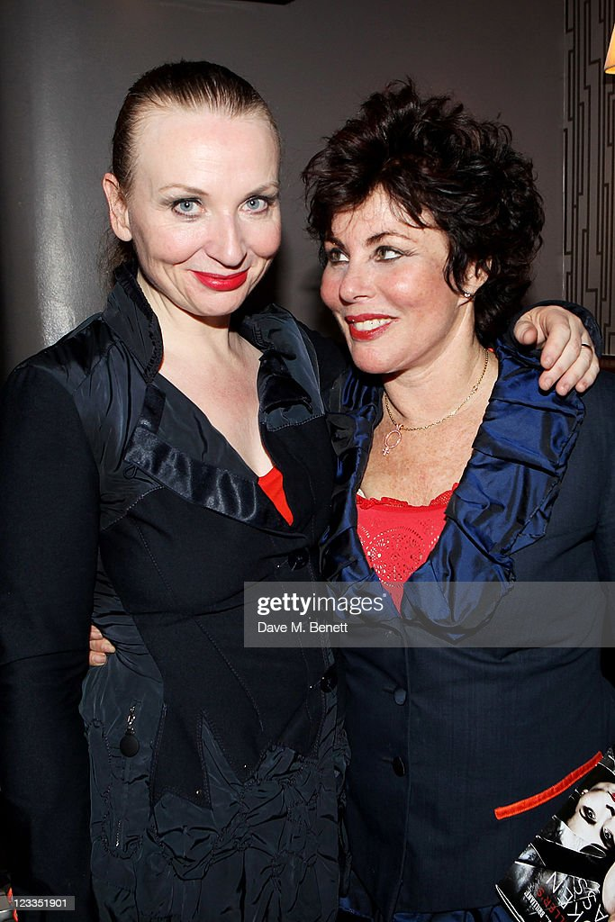 Co-Writers/Performers Judith Owen (L) and Ruby Wax attend an after party celebrating Press Night of 'Ruby Wax: Losing It' at The Duchess Theatre on September 1, 2011 in London, England.