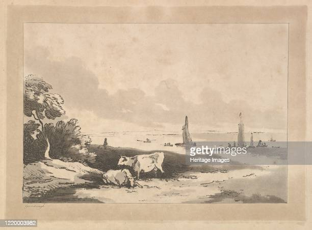 Cows and Seascape 178389 Artist Thomas Rowlandson