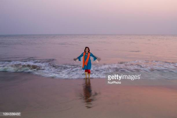 Coxs Bazaar Bangladesh on October 20 2018 Coxs Bazaa sea beach is longest and safest beach in the world Every year thousands of tourists around the...