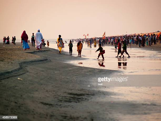 Cox's Bazar is the most visited tourist destinations in Bangladesh