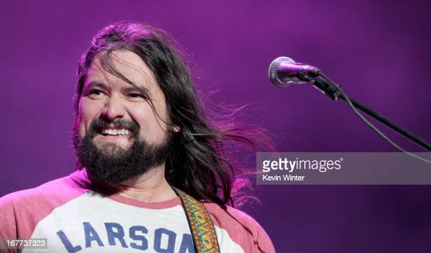 Coy Bowles of the Zac Brown Band performs onstage during 2013 Stagecoach California's Country Music Festival held at The Empire Polo Club on April 28...