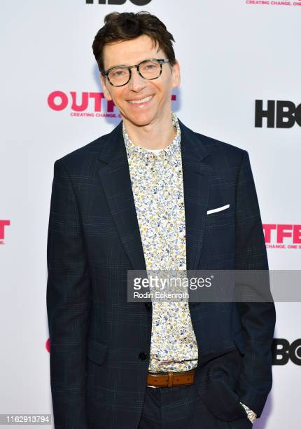 Coy Middlebrook attends the Outfest Los Angeles LGBTQ Film Festival Opening Night Gala premiere of Circus Of Books at Orpheum Theatre on July 18 2019...