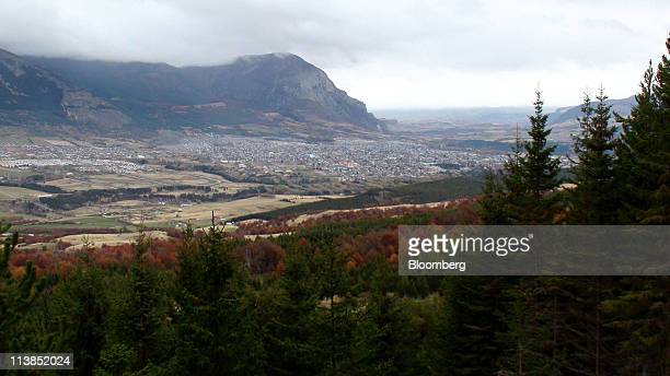 Coyhaique city sits in southern Chile on Sunday May 8 2011 Officials in the remote southern city of Coyhaique are scheduled to vote on HidroAysen...