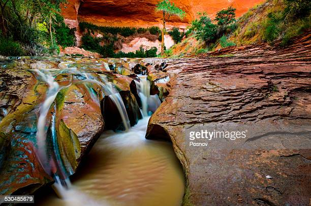 coyote gulch - grand staircase escalante national monument stock pictures, royalty-free photos & images