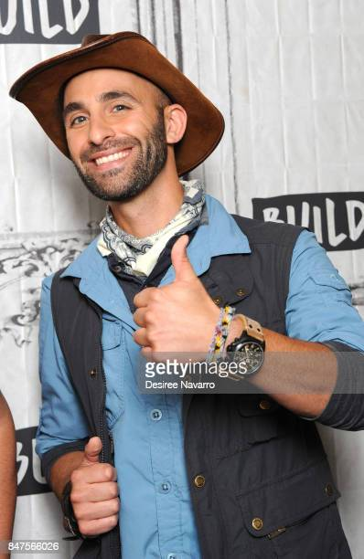 Coyote Peterson attends Build to discuss 'Coyote Peterson's Brave Adventures Wild Animals In A Wild World' at Build Studio on September 15 2017 in...