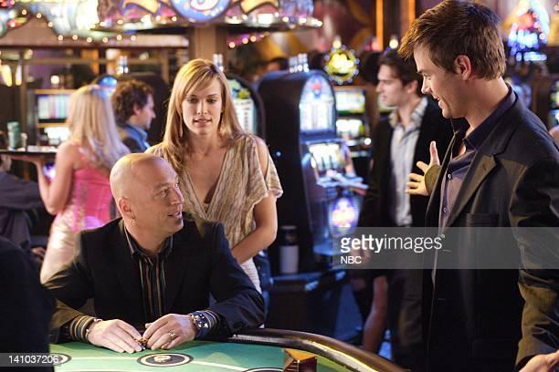 LAS VEGAS Coyote Ugly Episode 16 Pictured Molly Sims as Delinda Deline Howie Mandel as Himself Josh Duhamel as Danny McCoy Photo by Paul...