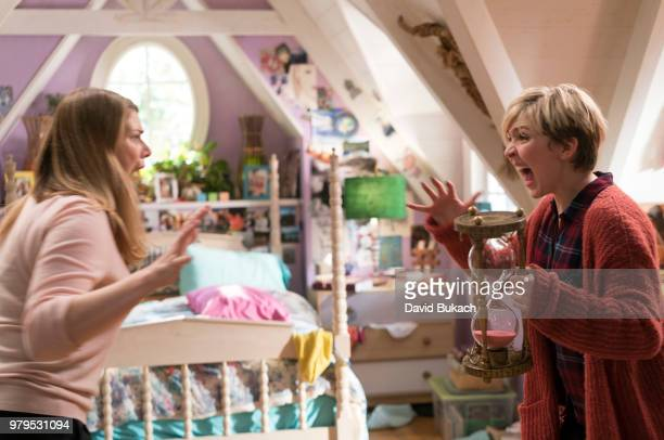 FRIDAY Cozi Zuehlsdorff and Heidi Blickenstaff star in the Disney Channel Original Movie Freaky Friday a musicdriven bodyswap comedy about a mother...