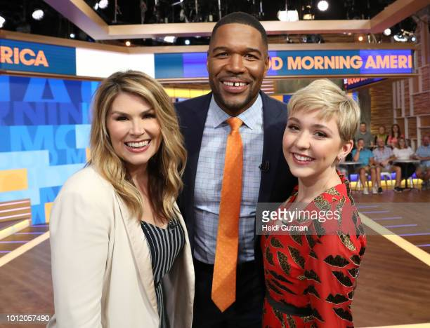 AMERICA Cozi Zuehlsdorff and Heidi Blickenstaff stars of the Disney Channel Original Movie Freaky Friday perform a live version of At Last It's Me on...