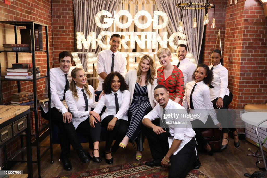 AMERICA - Cozi Zuehlsdorff and Heidi Blickenstaff, stars of the Disney Channel Original Movie 'Freaky Friday,' perform a live version of 'At Last It's Me' on 'Good Morning America,' in New York City on Monday, August 8, 2018. Freaky Friday debuts FRIDAY, AUGUST 10 (8:00 p.m., ET/PT) on Disney Channel. HEIDI