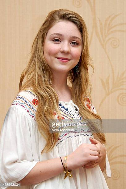 Cozi Zuehlsdorff at the Dolphin Tale 2 Press Conference at the Sheraton Sand Key Resort on August 19 2014 in Clearwater Florida