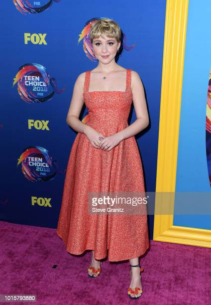 Cozi Zuehlsdorff attends FOX's Teen Choice Awards at The Forum on August 12 2018 in Inglewood California