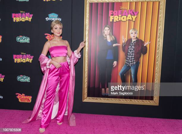Cozi Zuehlsdorff attends the Freaky Friday New York Premiere at The Beacon Theatre on July 30 2018 in New York City