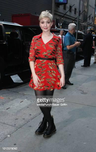 Cozi Zuehlsdorff is seen on August 06 2018 in New York City