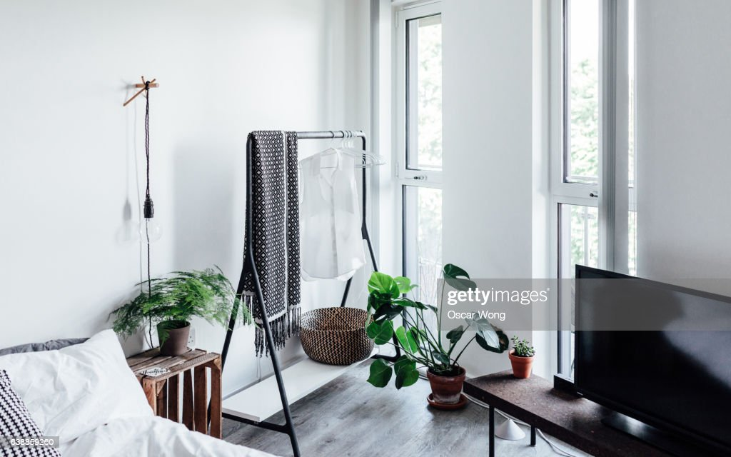 A cozy bedroom : Stock Photo