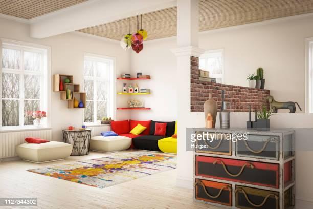 居心地のよい家のインテリア - 引き出し ストックフォトと画像