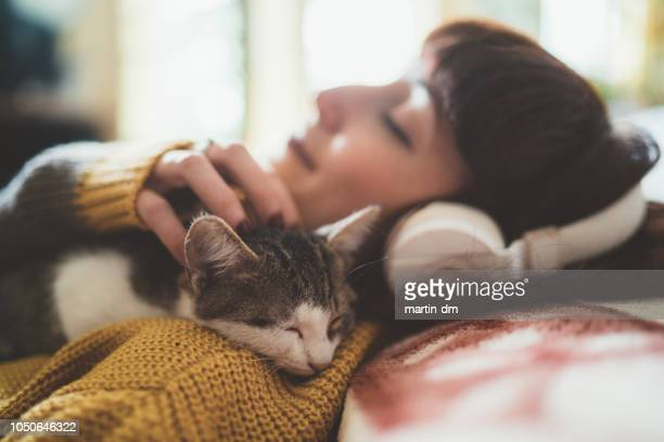 cozy home - affectionate stock pictures, royalty-free photos & images