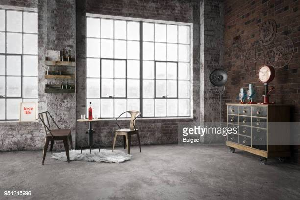 Cozy Industrial Style Interior