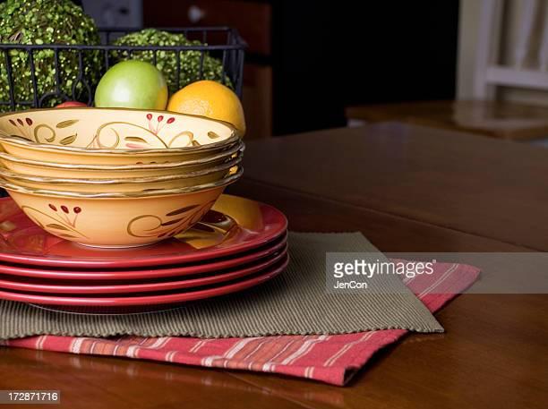 Cozy kitchen table