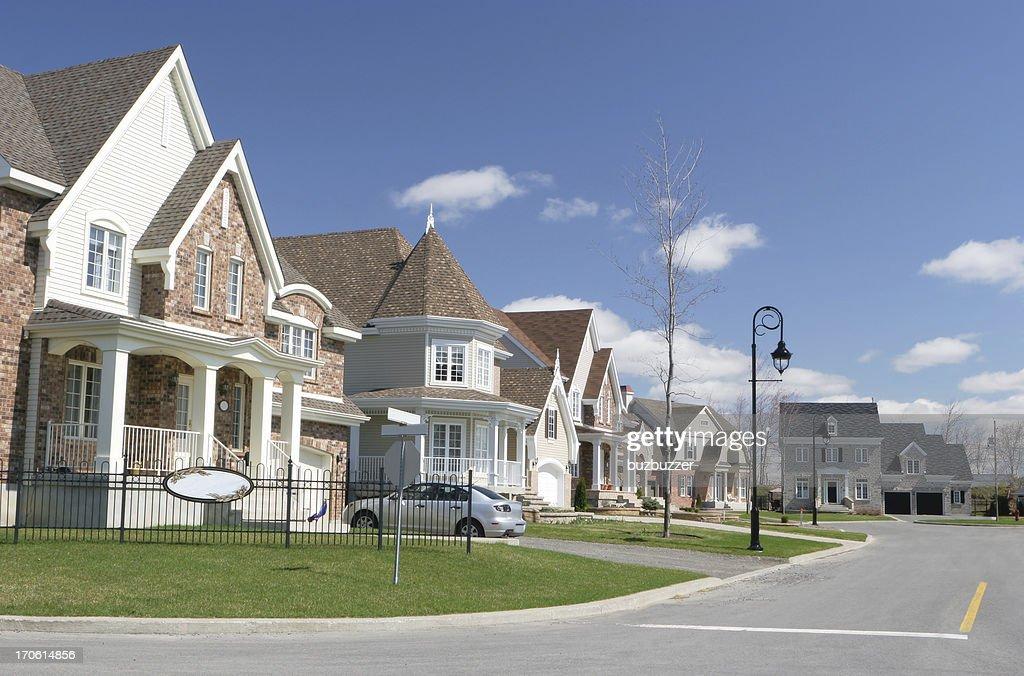 Cozy Neighborhood : Stock Photo