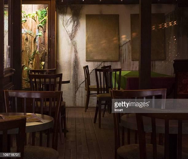 Gemütliche Restaurant Innenansicht