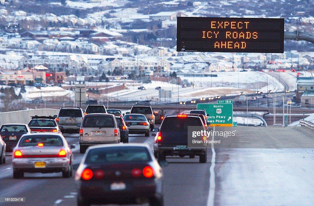ROCK, CO, JAN 26, 2004 -- <cq> A warning sign near Founders