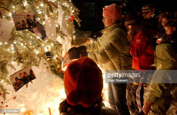 SPRINGS CO DEC 20 2004 <cq> Candle Light Vigil for teen skier Ashley Stamp killled Sunday in Vail Vigil is scheduled for 6pm at the base of Howelsen...