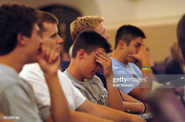 BOULDER CO SEP 19 2005 <cq> Fraternity members from Pi Kappa Phi appeared uneasy at times as the entire Greek community from the Boulder campus...