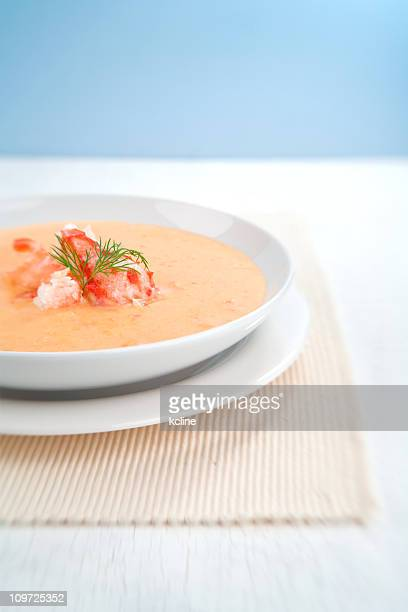 crab bisque - crab stock photos and pictures