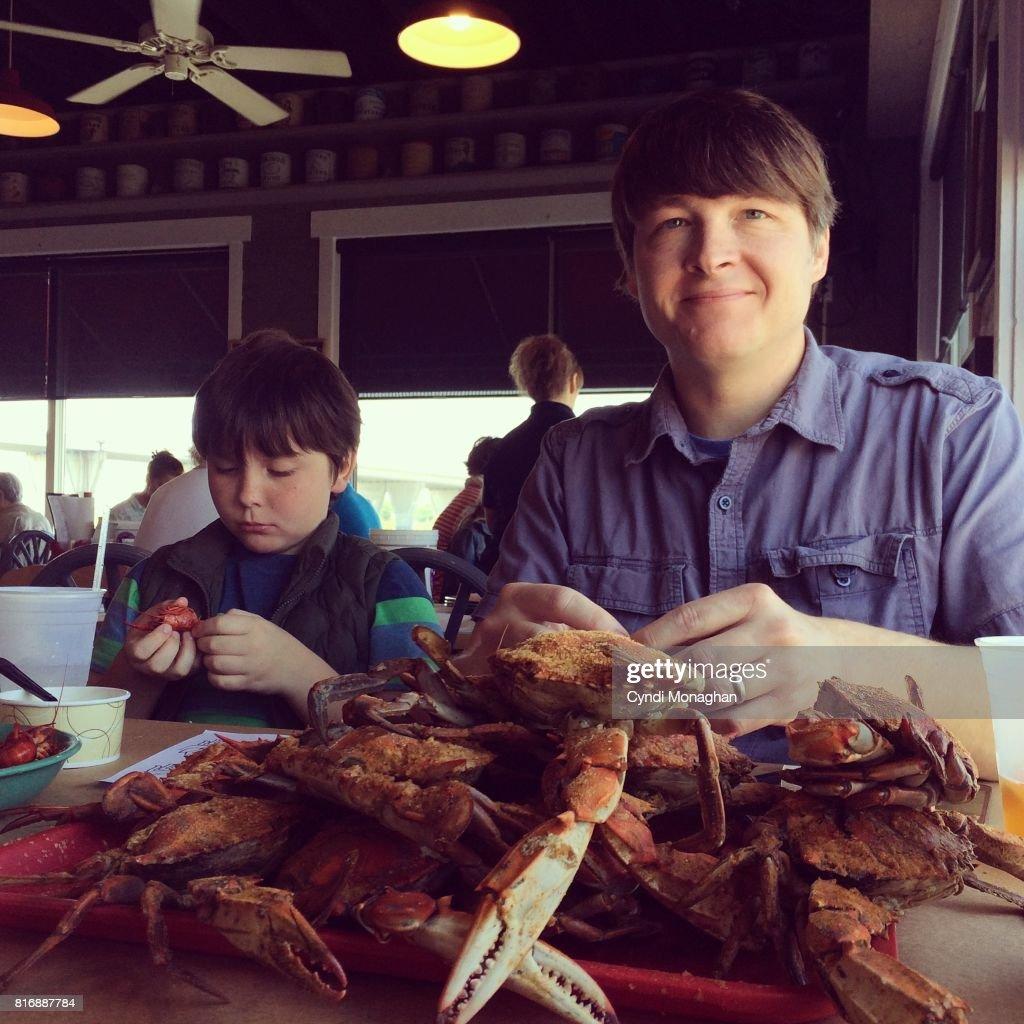 Crab Feast : Stock Photo