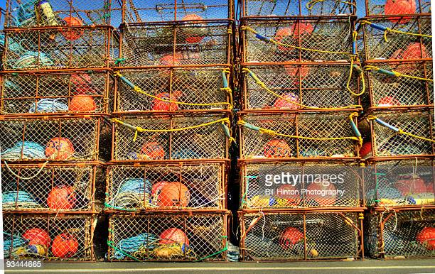 crab pots - crab pot stock photos and pictures