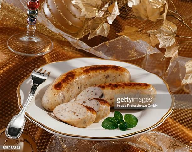 Crab white sausage