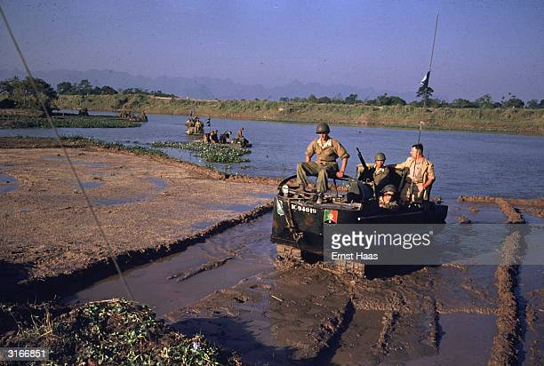 'Crabs' of the French Foreign Legion on duty in the former Indochina