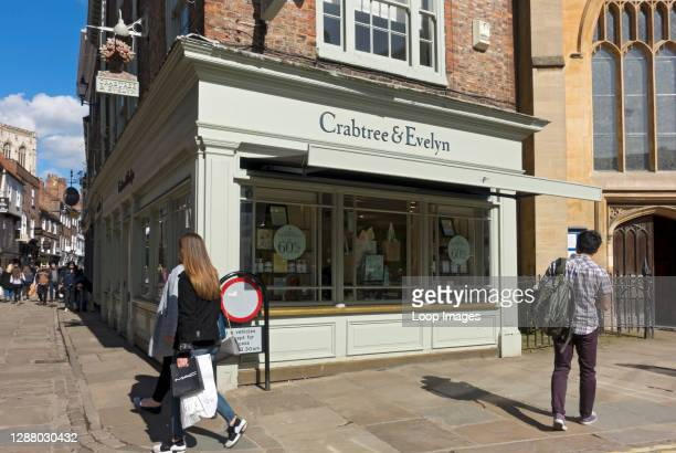 Crabtree and Evelyn shop Stonegate.