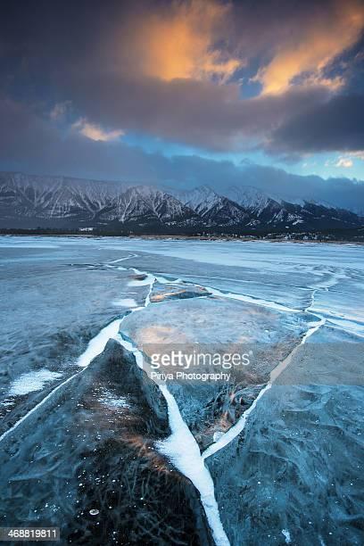 Crack on Ice