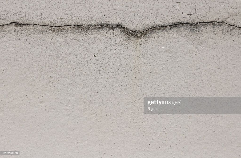 Cracked  concrete old wall texture background : Bildbanksbilder