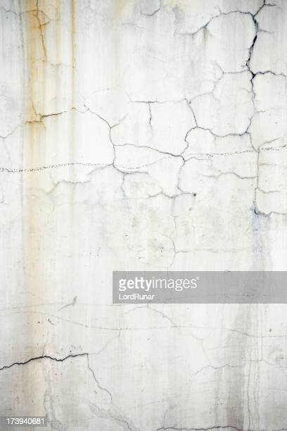 Cracked dirty wall