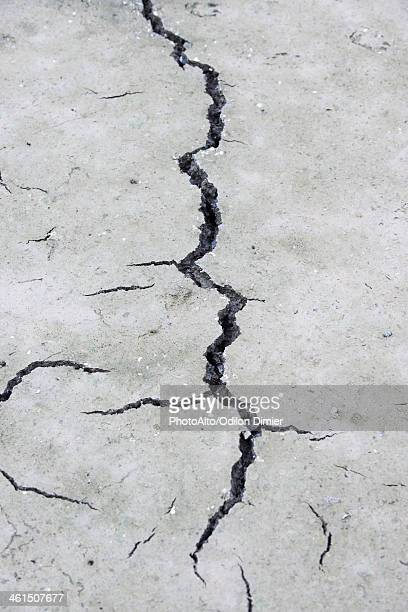 Cracked, dry earth