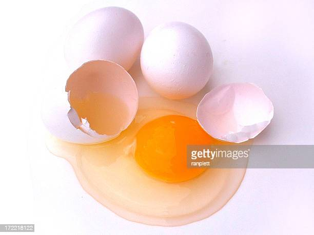 Cracked (Isolated Eggs)