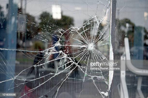 Cracked window