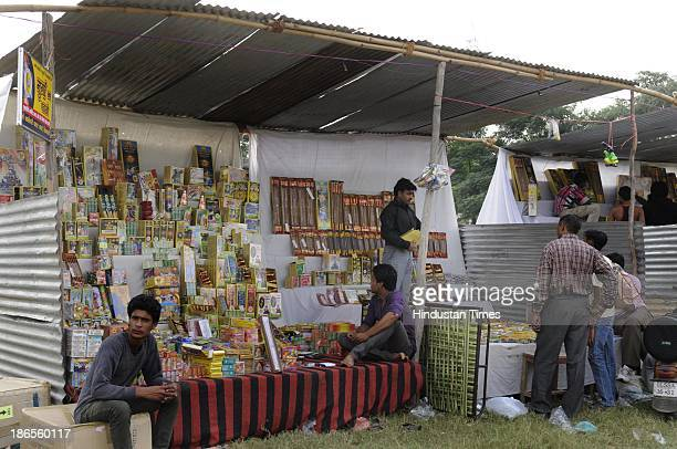 Cracker sellers sitting ideal as many people are not in mood of celebrating Diwali this time in wake of communal violence which claimed 60 lives and...