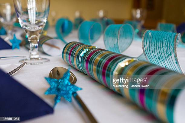 crackers and glasses on table - s0ulsurfing stock pictures, royalty-free photos & images