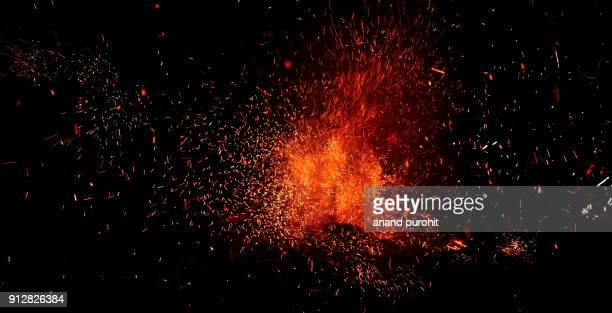 crackers night, diwali festival, india - fire natural phenomenon stock pictures, royalty-free photos & images