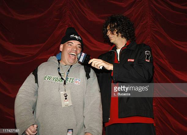 Crackhead Bob and Howard Stern during Howard Stern Last Day Live Event Inside at Hard Rock Cafe Times Square in New York City New York United States
