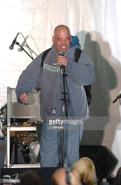 Crackhead Bob during Howard Stern Farewell KRock Radio Broadcast at 56th Street in New York City New York United States
