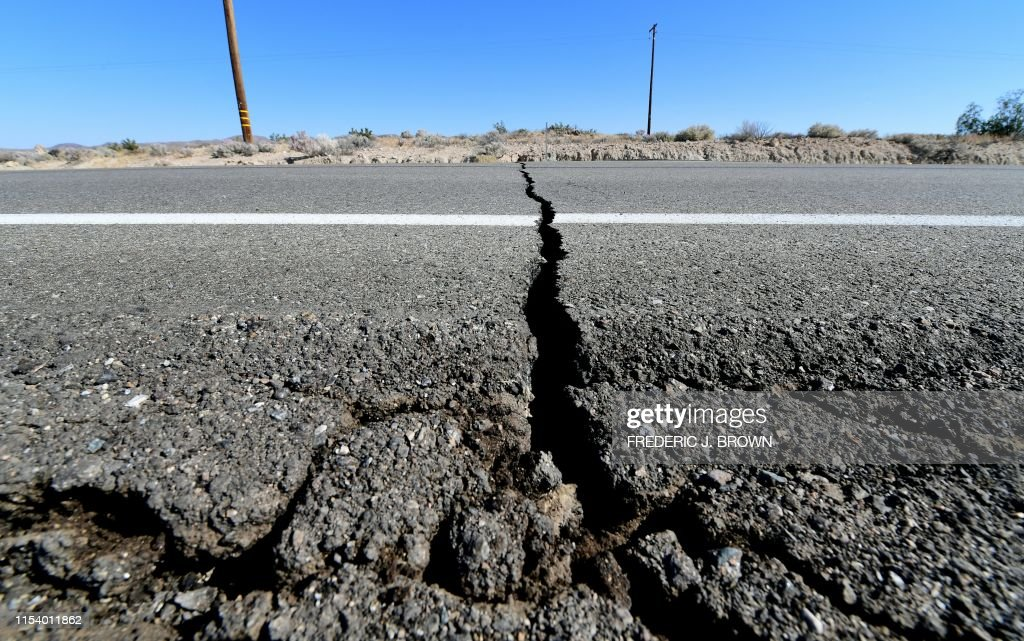 US-EARTHQUAKE : News Photo
