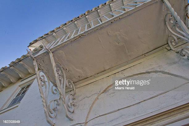 Cracks in the balcony that make them unsafe to step onto are but a small sample of the problems facing Dr Leonard Hochstein and his wife Lisa...