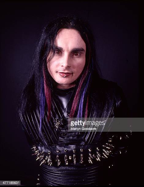 Cradle Of Filth Vocalist Dani Filth portrait London United Kingdom 2000