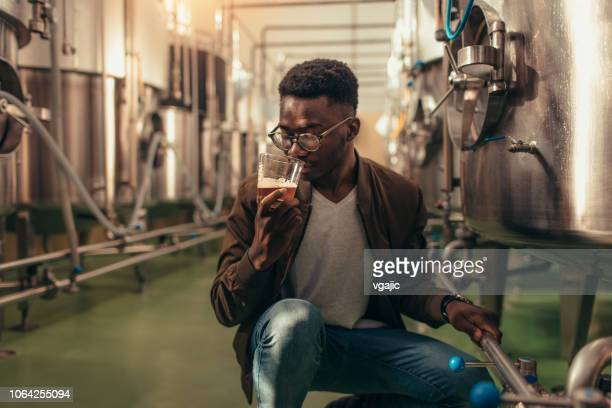 craft brewery - artisan stock photos and pictures