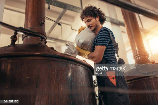 craft brewery - distillery stock pictures, royalty-free photos & images